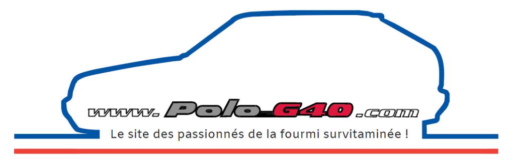 Logo contour polo pour illustrer la bibliothèque des Polo G40