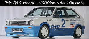 Photo menu article polo G40 record