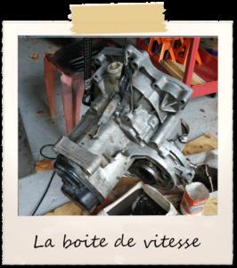 Image 8 : la boite de vitesse