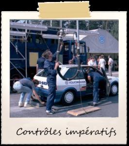Image 3 Les Contrôles impératifs à opérer