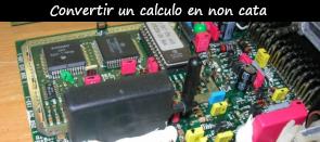 Photo / menu accès tuto conversion calculo en non cata