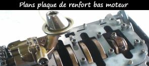 Photo / menu accès tuto/ plan plaque de renfort bas moteur