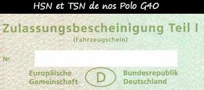 Photo / menu définition et utilité du HSN et TSN