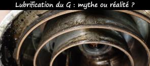 Photo / Menu vers article sur le mythe de la lubrification du G nécessaire