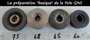 Photo / Menu  vers article sur la préparation de base de la G40
