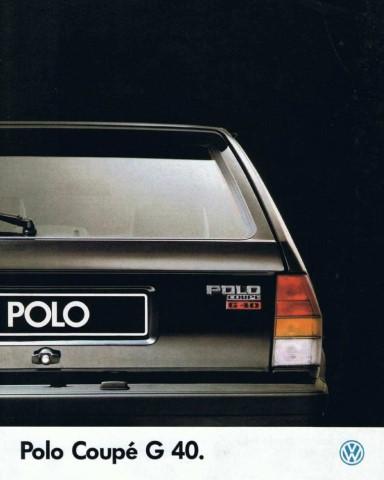 image / menu vers les brochures commerciales autour de la  polo g40