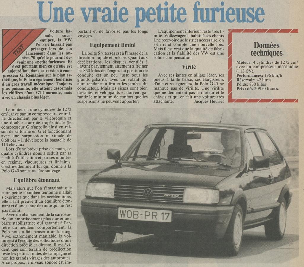 Extrait article la Liberté du 04/04/1991