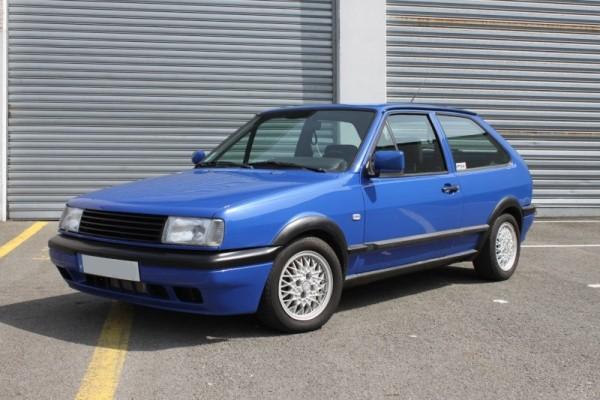 Polo G40 bleue